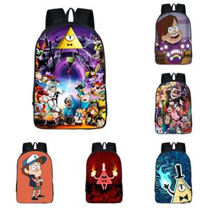 Zaino per studenti Cartoon Anime 13 Design personalizzato 3D Kids Schoolbag Boy Girl Multi-funzione per bambini di grande capacità Creativo Anime Zipper Mochila 06