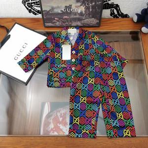 Vestiti delle ragazze del bambino Set estate 2020 nuova moda maglietta del manicotto + pantaloni di scarsità delle ragazze attrezzature dei bambini vestiti di bambini abbigliamento