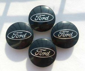 4 Caps Preto Centro de roda hub para Ford Focus Fusão Fiesta Borda Fuga Cmax 54 milímetros