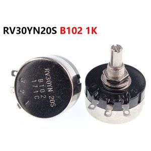 single turn carbon film potentiometer RV30YN20S B102 1K 3W adjustable resistor