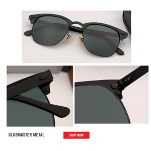 Top quality new Marca clube masster Óculos De Sol Dos Homens Óculos De Sol Designer de Óculos De Espelho oculos de sol Acessórios Óculos 3716 gafas 2019 51mm