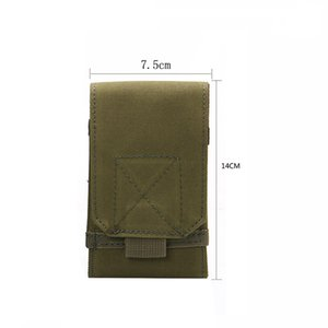 Outdoor Equipment Tactical Holster MOLLE Army Camouflage Bag Hook Loop Belt Pouch Holster Cover Case For The Mobile Phone