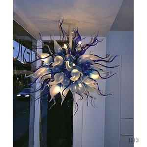 Modern Art Deco Glass Люстра 100% ручной работы выдувное стекло Художественное Лампы Wedding Decor Glass освещение Люстра