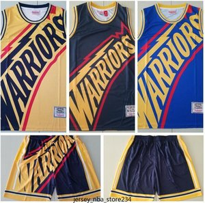 2020 men basketball New GoldenStateWarriors30 Curry Mitchell&ness European dyed retro jersey and pant