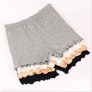Mujeres Soft Seamless Safety Short Pants Plus Size Summer Under Skirt Shorts de algodón Transpirable medias cortas bragas cómodas