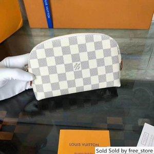 5 45432 Designer un Plaid Sacchetto Cosmetico Delle Donne Della Chiusura Lampo di trucco Stuff sacchi casi piccolo Make Up Pouch Borse Contenitore portatile # 4432