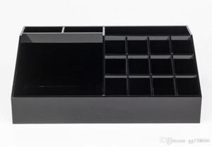 VIP gift Classic Acrylic Black Lipstick Multi-function Display Stand Cosmetics CC Label Storage Box Accessories Storage Box and Gift Box