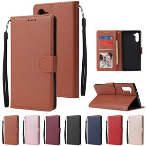 Leather Case for Samsung Galaxy Note 10 9 8 S10 S9 S8 Plus S7 S6 edge Flip Wallet Case For Samsung J3 J5 J7 2017 J4 J6 J8 2018