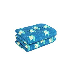 Travel Beach Hiking Folding Seat Pad Moisture Proof Camping Mat Picnic Soft Floral Print Anti Dirty Waterproof Outdoor Portable