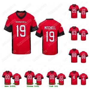 2020 Calgary Stampeders 19 Bo Levi Mitchell 12 Montell Cozart 9 Nick arbuckle 4 Eric Rogers 88 Kamar Jorden 25 Don Jackson Jersey