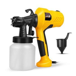 Farbe 400W Sprayer tragbare elektrische Sprayer Gun Abnehmbare Airbrush Farbspritzwerkzeug mit 800 ml Fassungsvermögen 110 ~ 230V