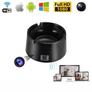 Vente en gros cendrier noir WiFi Mini caméra à distance HD 1080P Motion Mini DV enregistreur vidéo numérique de sécurité à domicile Micro caméscope