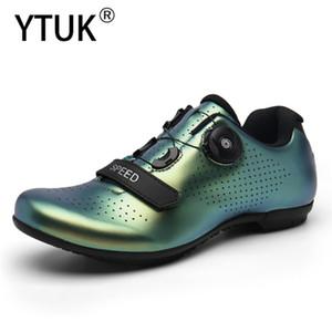 YTUK 2020 بلين جديد أحذية الدراجة ركوب الدراجات على الطرق أحذية الرجال الطريق دراجة الخفيفة جدا أحذية رياضية تنفس المهنية الذاتي قفل