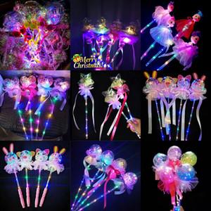 Nuovo LED palla lampo bacchetta magica fatina bagliore bastone palla stella must-have di Natale giocattoli per bambini di decorazione festa di compleanno di nozze suppli
