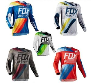 New custom FOX downhill suit men and women long-sleeved cycling suits men's racing suits outdoor sports off-road motorcycle team equipment