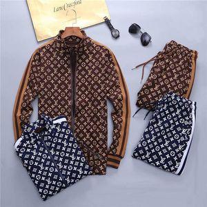 Fashion Brand Design Men's tracksuit Medusa Letter printing Sportswear men track suit Luxury sweat suit coat mens jacket coat hoodie