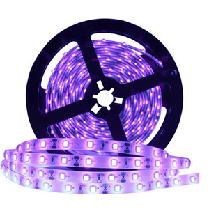 UV Light Strip 12V UV Strip Lights 1 Meter 60 LEDs, 395nm-400nm for Party, Collection, Stage, Night Fishing.etc.