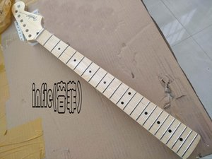 벨트 기타 목 후 빠른 배송 새로운 Stratocaster 일렉트릭 기타 일 목 22 프렛 메이플 지판 광택