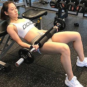 Esponja Barbell Pad Ginásio Fitness Barbell Almofada Peso Levantamento Pescoço Protetor de Ombro Bodybuilding Workout Equipamento de Ginástica Gym