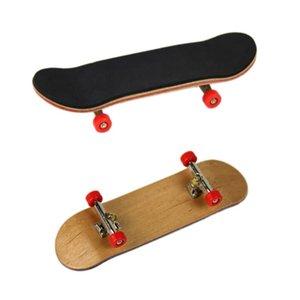 ruedas de rodamiento de tipo profesional Teniendo Ruedas Skid Pad de madera de arce dedo monopatín aleación de stents fingerboar altos juguetes de calidad