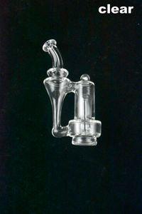 연기가 나는 한덩어리를 위한 두꺼운 명확한 교체 부분을 가진 대중적인 신식 리사이클 러 카르타 유리제 유리제 부속품