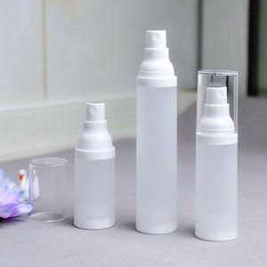 살균제 액체 병 야외 15 ㎖ 30ML 50ML 젖빛 액체 병 PP 로션 병 스프레이 미스트 병 여행