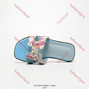 Hermes slippers 020 La consegna libera francese nuovo Lian pistoni di estate di modo di cuoio delle donne di spessore e scarpe comode Hococal dimensioni sandali tacco alto 36-40
