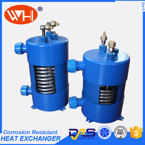 2P PURE Titanium Heat exchanger in pvc,small tube heat exchanger,shell tube oil cooler