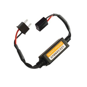 H7 LED Canbus Adapter Error Free Decoder for H4 LED Headlight Bulb Kits for SUV Fog Lamps H1 H8 H11 HB3 HB4 Anti-Flicker