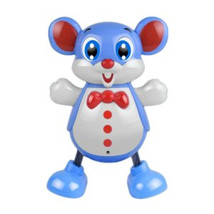 FBIL-Electric Smart Dancing Cartoon Mouse Toy with Music and Light Accompany the Child's Happy Growth