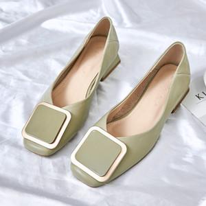 DIWEINI 새로운 섹시한 하이힐 여성 신발 2020 봄 여성 광장 뒤꿈치 신발 웨딩 여자 펌프