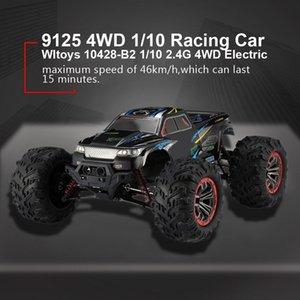품질 9125 4WD 1/10 고속 46km/h 전기 초음파 트럭 오프로드 자동차 버기 RC 레이싱 자동차 전자 장난감 RTR MX200414