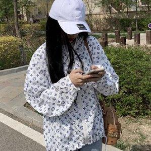 Summer 2020 new women's wear, windbreaker sportswear, sunscreen casual jacket web celebrity same style chiffon shirt, free shipping