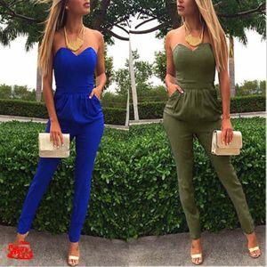 New Fashion Off the Shoulder EleJumpsuit Mulheres Lace BODYCON Bodysuit macacãozinho Womens Macacões Macacões femininos de verão 2019