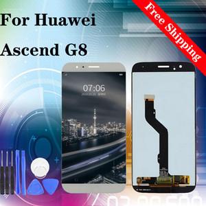 """5.5"""" Super calidad OEM para el reemplazo digitalizador Asamblea Huawei Ascend G-8 RIO-L01-L02 RIO RIO-L03 pantalla LCD de pantalla táctil envío libre"""