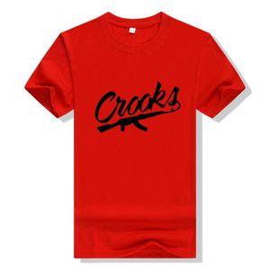 marca alla moda di skateboard popolare West Coast progettista maglietta casuale hip hop hip hop hiphop uomo manica corta