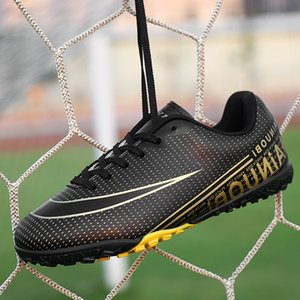 Kids Boy Girls Soccer Shoes indoor football Shoes sneakers turf futsal original football boots Comfortable Waterproof