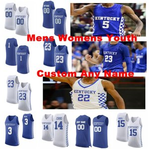 Kentucky Wildcats Джьиные изделия Hagans Ashton Jersey 23 Montgomery EJ Ben Maxey Tyrese 5 Quickley Immanuel NCCA Баскетбол Майки на заказ