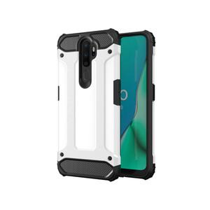 Pour OPPO F11 A9 antichocs Matte 2 en 1 Armure hybride TPU Téléphone cas pour OPPO A9 2020