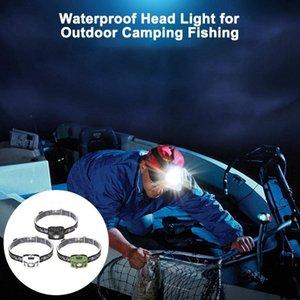 headlamp USB Charging Ultra Bright LED Headlight Waterproof Head Light for Outdoor Camping Fishing 3 W head