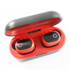 50pcs DT-6 TWS DT6 Wireless Bluetooth 5.0 Earphone Mobile Stereo Earbud Sport in-Ear headset For smartPhone pk i12 i11 i9s Ti8s