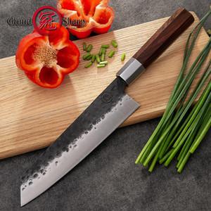 Grandsharp handgemachte Kochmesser 8 Zoll CarCon 4Cr13 Stahl japanische Kiritsuke Berufsküche Fleischmesser Werkzeug Kochen