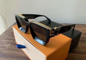 Vente en gros sans Shipp marque de mode Millionaire Lunettes de soleil preuve Noir qualité Sungles luxe avec boîte