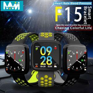 MMN-Uhr-Smart-F15 Fitness-Armband 1,3 Zoll Display-Pedometer Herzfrequenz-Blutdruck-Blut-Sauerstoff-Monitoring-Smart-Armband