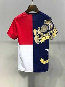 2.020 Homens de Verão de e T-shirt Caráter 3D de Mulheres Harajuku Imprimir Punk Rock T-shirt do esporte e lazer Roupa de culturas