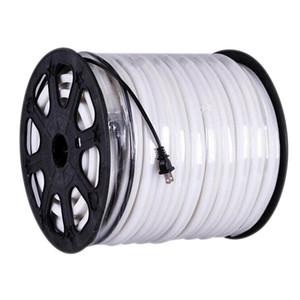 Edison2011 14 * 26mm LED 네온 코드 연약한 네온 등 50m / lot 80 Led / M 가동 가능한 네온 밧줄 지구 빛 220V EU 마개