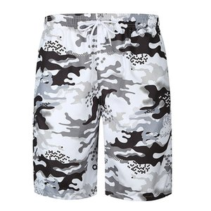 Pop2019 European Foreign Trade Pattern Camouflage Trend Sandy Beach Cool Time Shorts Easy Will Code Pants Dk03