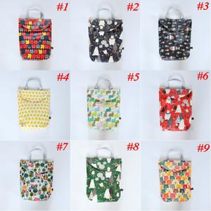 Multifunctional Baby Diaper Bags Organizer Reusable Waterproof Print Wet Dry Bag Mommy Storage Bag Travel Nappy Bag