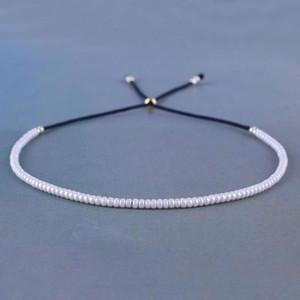 KELITCH String Strand Bracciali braccialetti di modo Handwoven Seed perline stringa Bracciali Brazaletes Adjustbale nuovi Bijoux