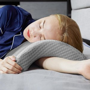 Memory Foam Sleep Pillow Slow Rebound Anti-Hand Paralysis Couple Relax Cushion Solid Cotton Bedding Article Lovers Pillows